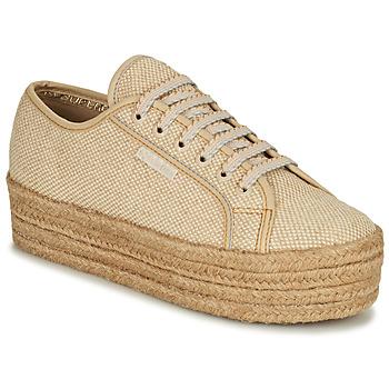 Chaussures Femme Baskets basses Superga 2790 JUTECOTROPEW Beige