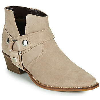 Chaussures Femme Bottes ville Steve Madden GOLDA Beige