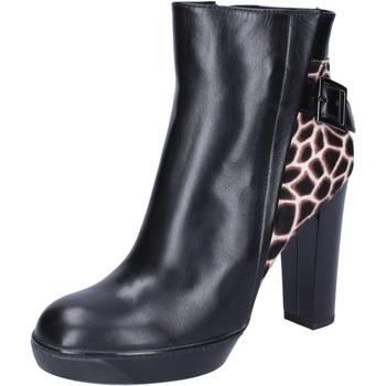 Chaussures Femme Bottines Hogan BK643 Noir