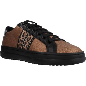Chaussures Femme Baskets basses Geox D PONTOISE Brun
