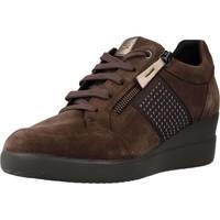 Chaussures Femme Baskets basses Geox D STARDUST Marron
