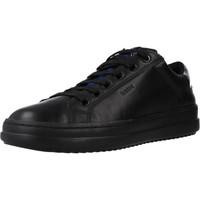 Chaussures Femme Baskets basses Geox D PONTOISE Noir