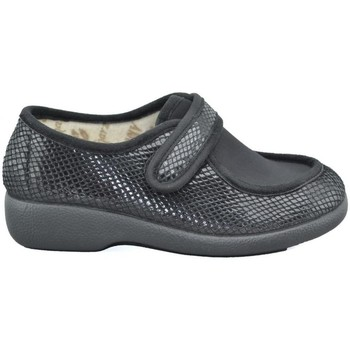 Chaussures Femme Chaussons Garzon 3070 PITON NEGRO Zapatillas