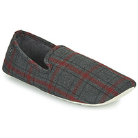 Chaussures Homme Chaussons Isotoner FILOMENA Gris / Rouge