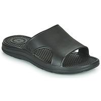 Chaussures Homme Claquettes Isotoner MONA Noir