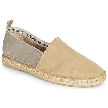 Chaussures Homme Espadrilles Selected AJO NEW MIX Sable