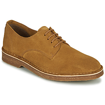 Chaussures Homme Derbies Selected RIGA SUEDE DERBY Cognac