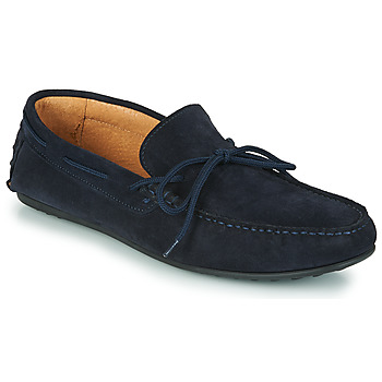 Chaussures Homme Mocassins Selected SERGIO DRIVE SUEDE Marine