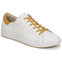 Chaussures Femme Baskets basses Pataugas JAYO F2G Blanc / Ocre