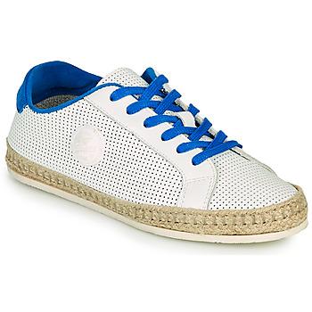 Chaussures Femme Espadrilles Pataugas PALOMA F2F Blanc / Bleu