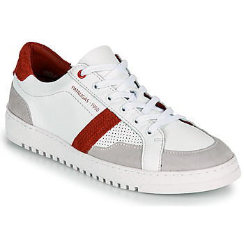 Chaussures Homme Baskets basses Pataugas MARCEL H2G Blanc / Rouge