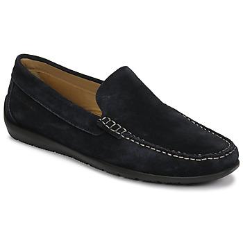 Chaussures Homme Mocassins Lumberjack LEMAN Marine