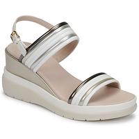 Chaussures Femme Sandales et Nu-pieds Lumberjack ELAINE Blanc / Beige