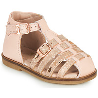 Chaussures Fille Sandales et Nu-pieds Aster NINI Rose