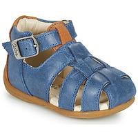 Chaussures Garçon Sandales et Nu-pieds Aster ODASSIO Marine