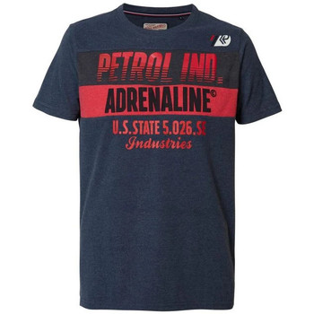 Vêtements Homme T-shirts manches courtes Petrol Industries TSR603 5091 DEEP NAVY Bleu marine