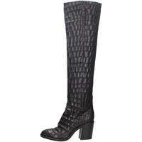 Chaussures Femme Bottes ville Strategia A4836-K NOIR