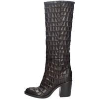 Chaussures Femme Bottes ville Strategia A4835-T MARRON