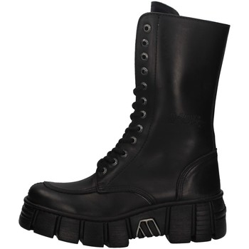 Chaussures Femme Bottines New Rock NRSM-WALL029N NOIR