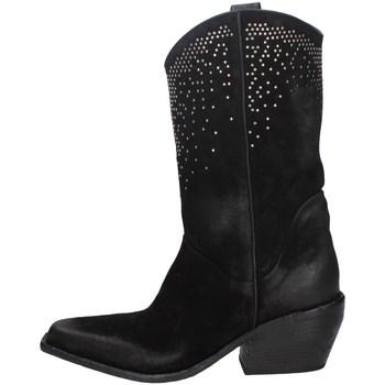 Chaussures Femme Bottes ville Elena Iachi E2652 NOIR