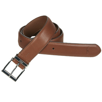 Accessoires textile Homme Ceintures Polo Ralph Lauren S BAR DRS BT-CASUAL-SMOOTH LEATHER Marron