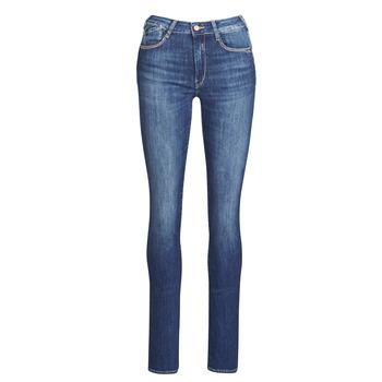 Vêtements Femme Jeans droit Le Temps des Cerises PULP HIGHREG Bleu clair