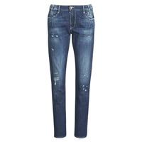 Vêtements Femme Jeans boyfriend Le Temps des Cerises 200/43 LIOR Bleu