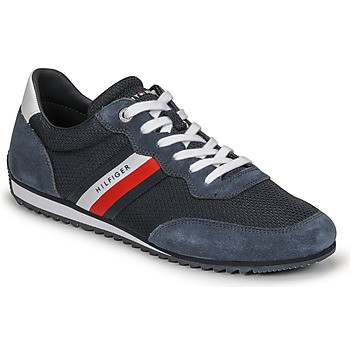 Chaussures Homme Baskets basses Tommy Hilfiger ESSENTIAL MESH RUNNER Marine