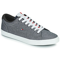 Chaussures Homme Baskets basses Tommy Hilfiger ESSENTIAL CHAMBRAY VULCANIZED Gris