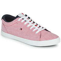 Chaussures Homme Baskets basses Tommy Hilfiger ESSENTIAL CHAMBRAY VULCANIZED Rose