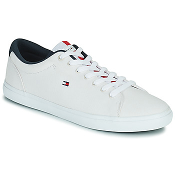 Chaussures Homme Baskets basses Tommy Hilfiger ESSENTIAL CHAMBRAY VULCANIZED Blanc