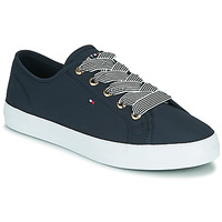 Chaussures Femme Baskets basses Tommy Hilfiger ESSENTIAL NAUTICAL SNEAKER Marine