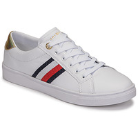 Chaussures Femme Baskets basses Tommy Hilfiger TH CORPORATE CUPSOLE SNEAKER Blanc