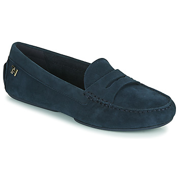 Chaussures Femme Mocassins Tommy Hilfiger TOMMY ESSENTIAL MOCCASIN Marine