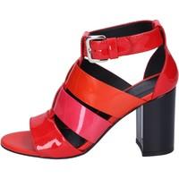 Chaussures Femme Sandales et Nu-pieds Hogan BK646 Rouge