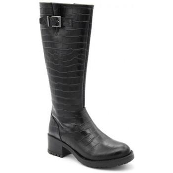 Chaussures Femme Bottes We Do co88079/18 Noir