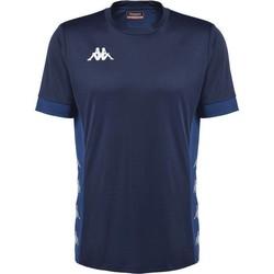 Vêtements T-shirts manches courtes Kappa Maillot  dervio violet