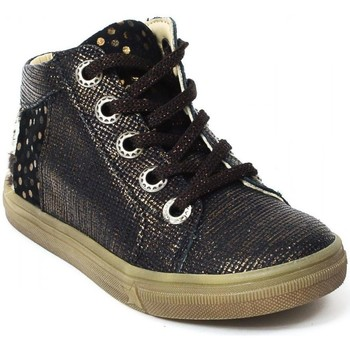 Chaussures Fille Bottines Bellamy Bottines cuir or