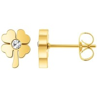 Montres & Bijoux Femme Boucles d'oreilles Sc Crystal B2350-DORE+E000 Doré