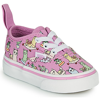 Chaussures Fille Baskets basses Vans AUTHENTIC ELASTIC LACE Rose