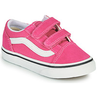 Chaussures Fille Baskets basses Vans OLD SKOOL V Rose