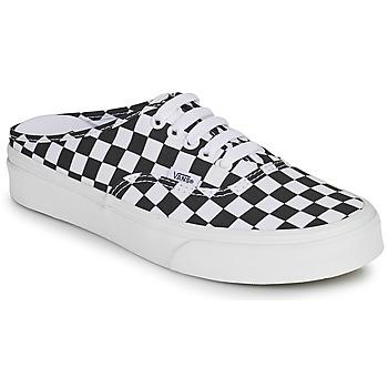 Chaussures Mules Vans AUTHENTIC MULE Noir / Blanc