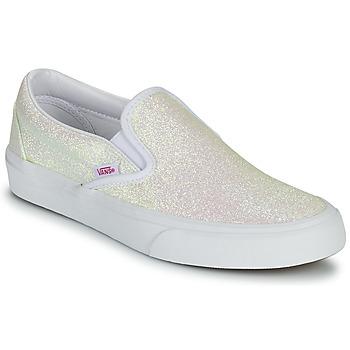 Chaussures Femme Slip ons Vans CLASSIC SLIP ON UV Glitter Beige / Rose