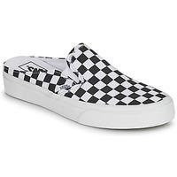 Chaussures Mules Vans CLASSIC SLIP ON MULE Noir / Blanc
