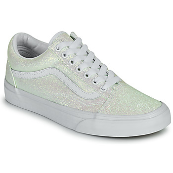 Chaussures Femme Baskets basses Vans OLD SKOOL Blanc