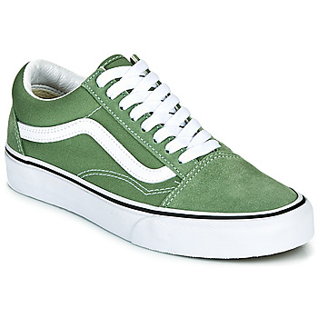Chaussures Baskets basses Vans OLD SKOOL Vert