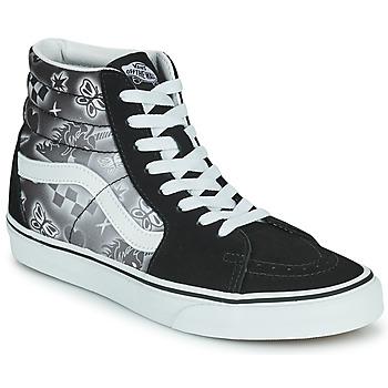 Chaussures Femme Baskets montantes Vans SK8 HI Noir / Blanc