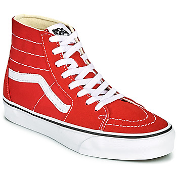 Chaussures Baskets montantes Vans SK8 HI TAPERED Rouge