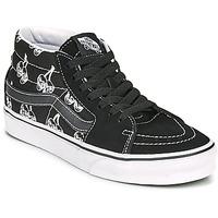 Chaussures Baskets montantes Vans SK8 MID Noir / Blanc