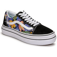 Chaussures Femme Baskets basses Vans SUPER COMFYCUSH OLD SKOOL Noir / Fleuri